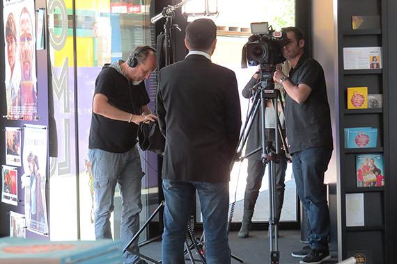 Swisslos-Reportage Behind the Scenes